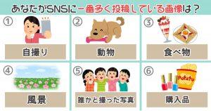 【心理テスト】あなたがSNSによく投稿する画像を選ぶと...