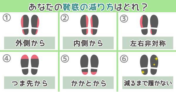 【心理テスト】靴底のすり減り方でわかる「心の奥底に根付いた性格」