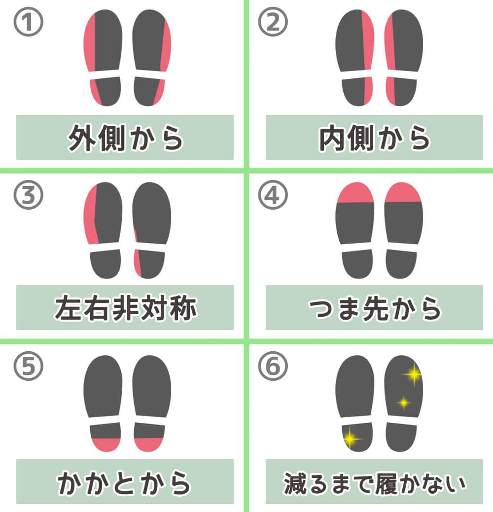 靴 クセ 性格 心理テスト