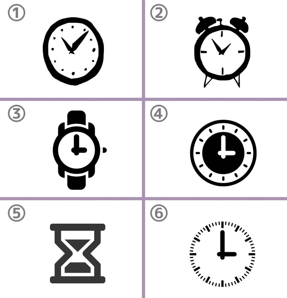 時計 恋 行方 心理テスト