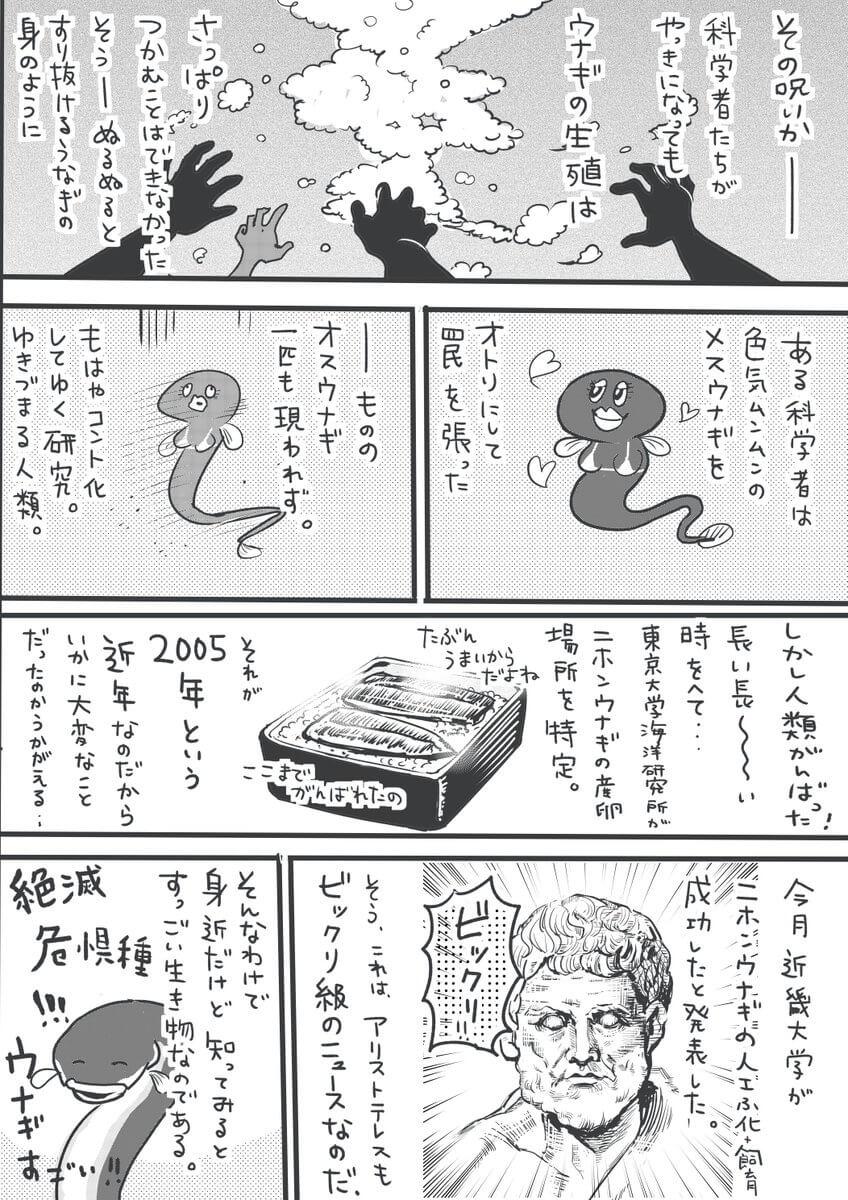 うなぎの研究の歴史04
