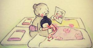 「おばあちゃんと孫の絆」を描いた漫画に、心温まったし、泣いた