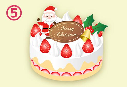 クリスマス ケーキ 後輩 心理テスト