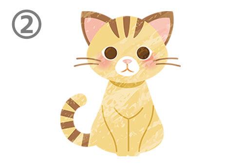 猫 イラスト 好きな人にだけ見せる性格