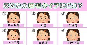 【心理テスト】あなたの眉毛で「意志の強さ」がわかります