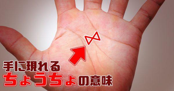 手のひらに現れたら幸せが訪れる『蝶々紋』って知ってる?