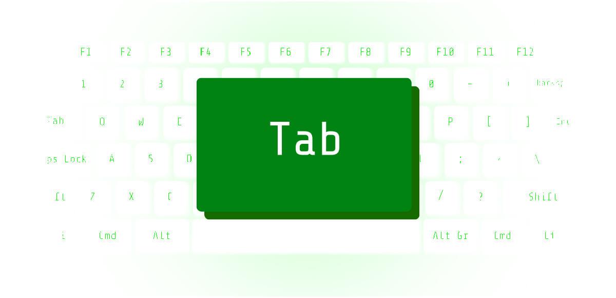マーク パソコン キーボード 心理テスト Tab