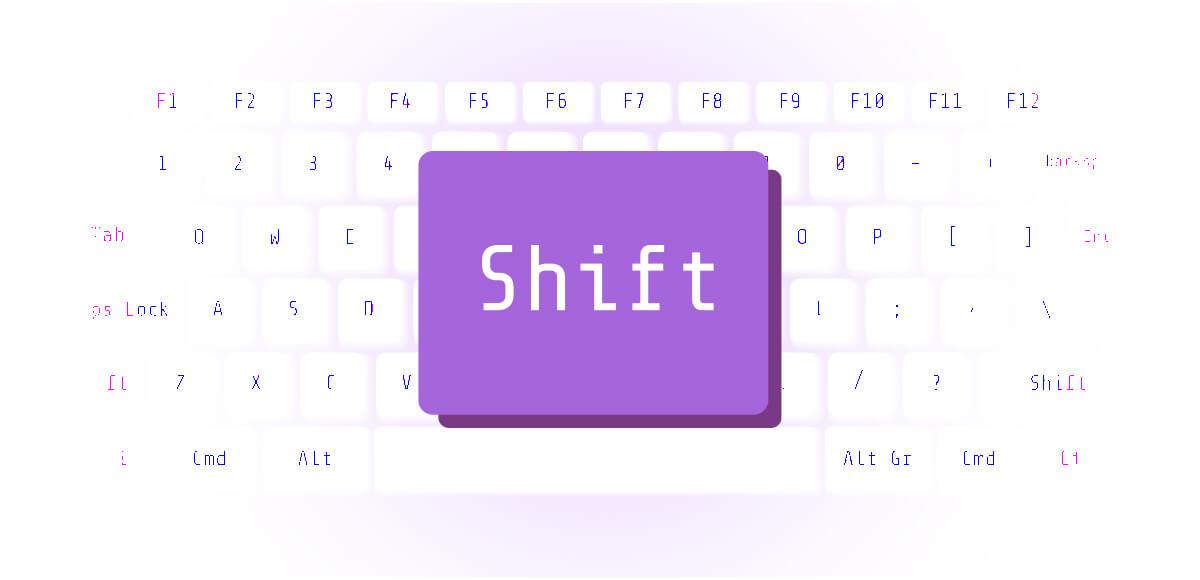 マーク パソコン キーボード 心理テスト shift