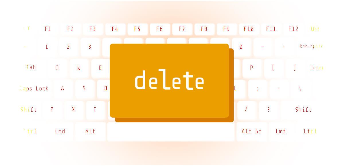 マーク パソコン キーボード 心理テスト delete