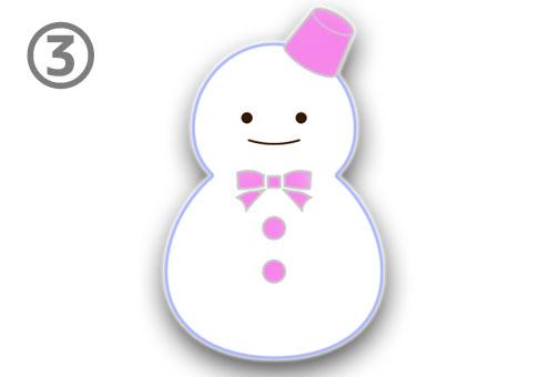 雪だるま 色 四字熟語 心理テスト ピンク