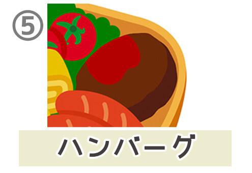 お弁当 食べる 性格 心理テスト ハンバーグ