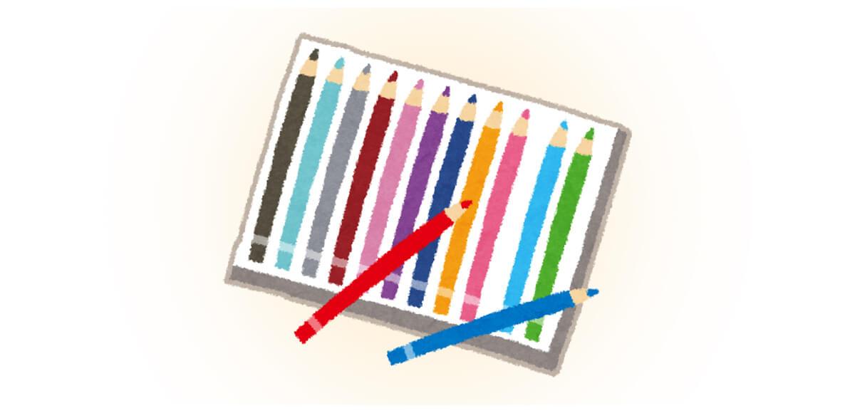 春 文房具 心理テスト 色鉛筆