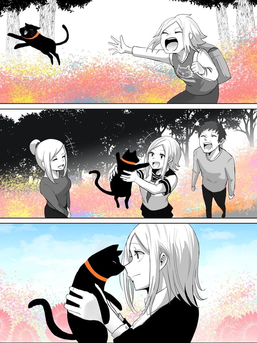 捨て猫が人間から愛情をもらう話02