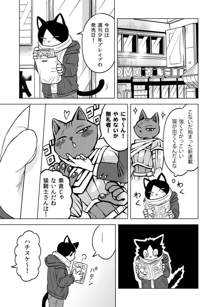 人間にかわいがられるのが苦手な猫の話 2-3