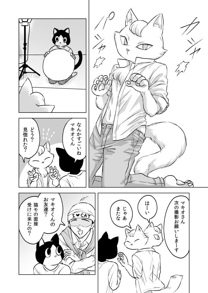 人間にかわいがられるのが苦手な猫の話 1-4