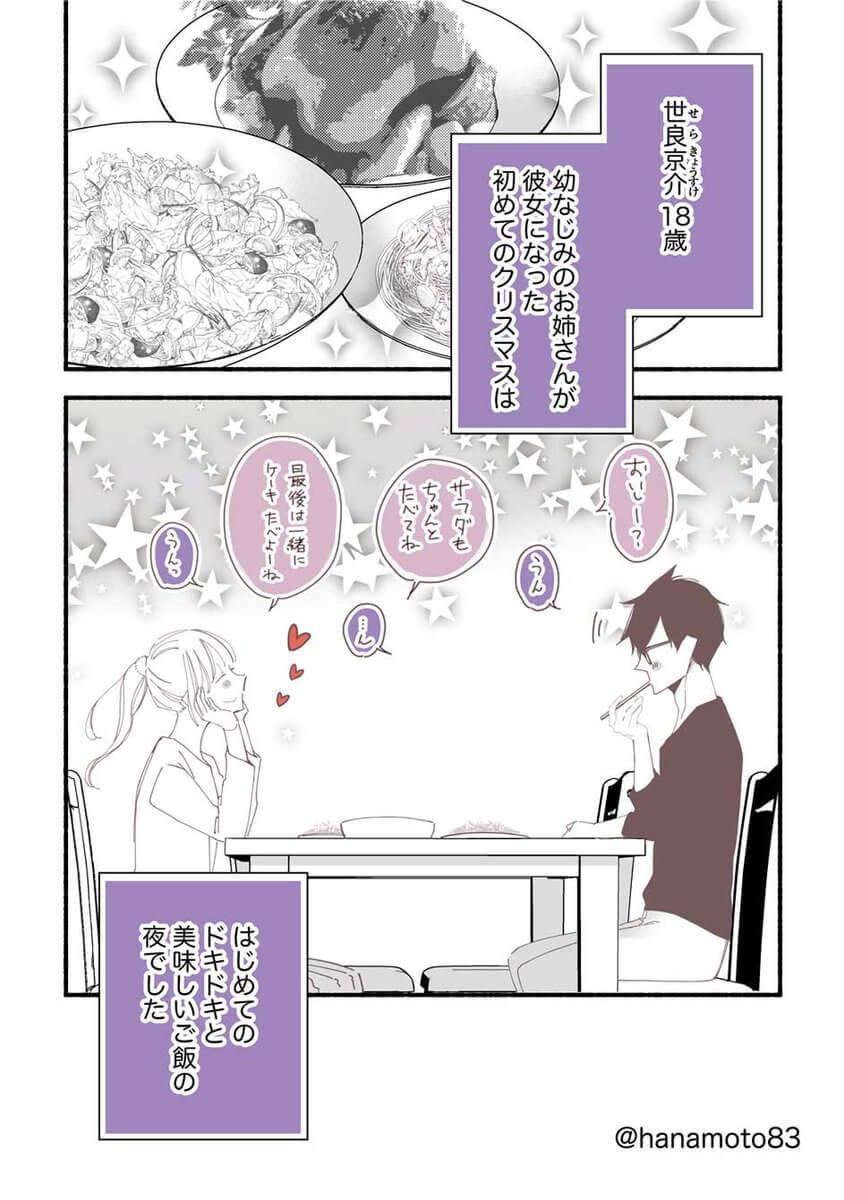 鮎子おねえさんと年下DK彼氏 1-8