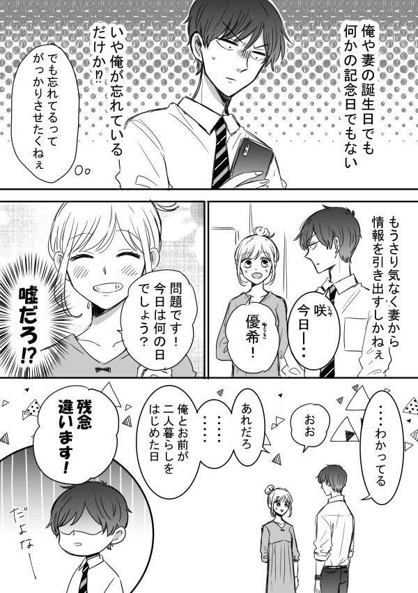 ツン甘な彼氏 新しい記念日 2