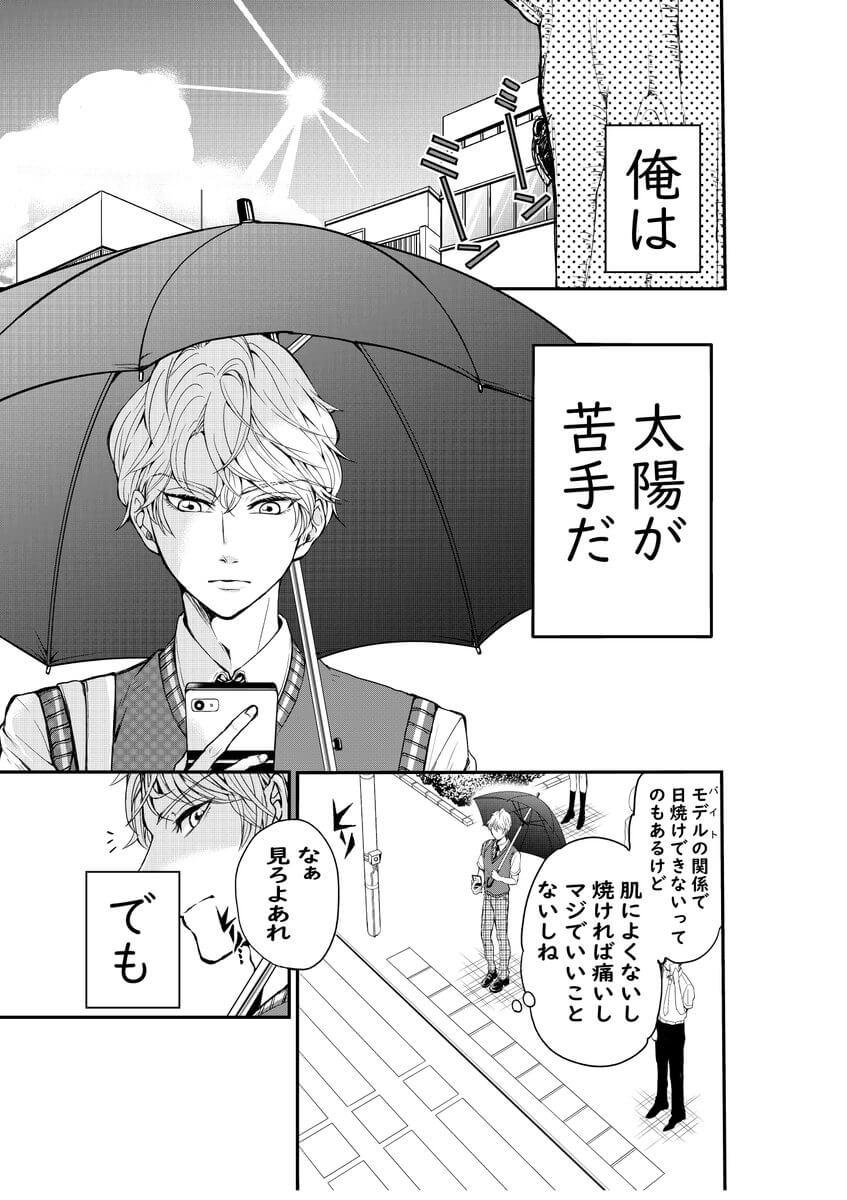 日傘と太陽1-1