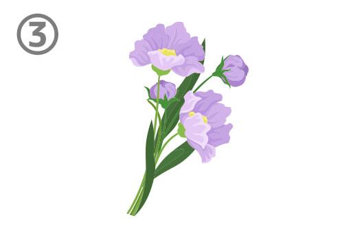 花束 輝ける分野 心理テスト