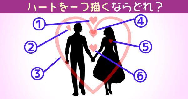【心理テスト】あなたにとっての「恋愛重要度」がわかります