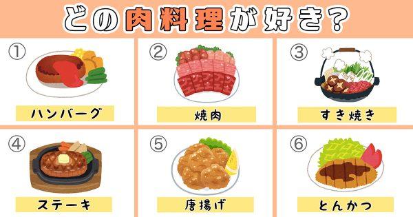 【心理テスト】あなたの性格は肉食?それとも草食?