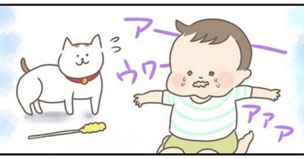 優しい猫さんの「夜泣き対応」が、かわいいのなんのって