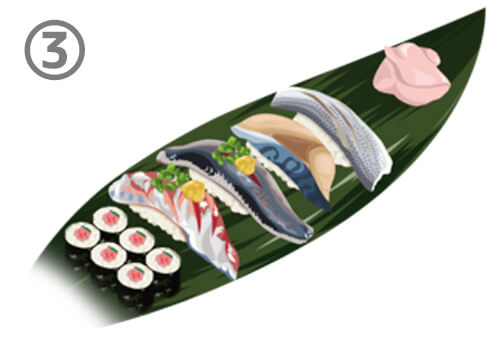 寿司 野菜 心理テスト