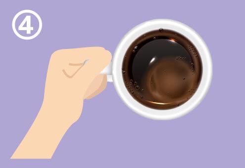 マグカップ 持ち方 考えていること 心理テスト