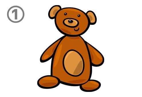 クマ イラスト 肉食系 草食系 心理テスト