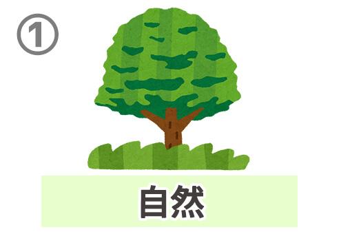 緑 性格 心理テスト 診断 自然