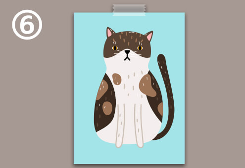 猫 絵 学生時代 心理テスト