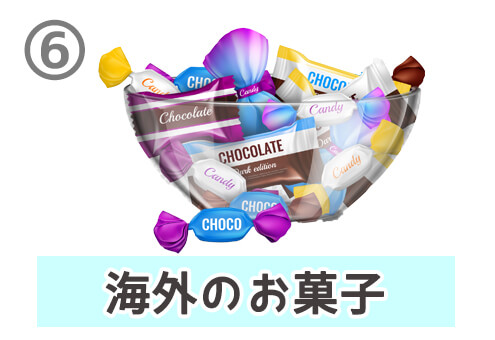 動画 商品紹介 昔話 心理テスト 海外のお菓子