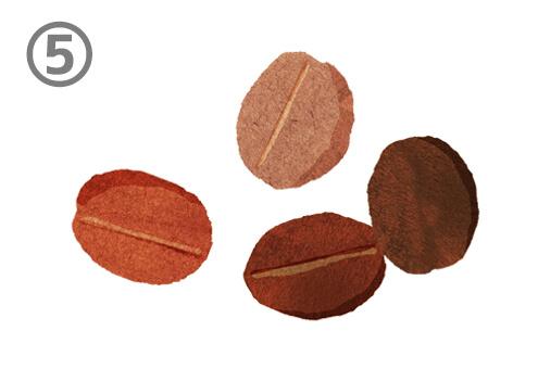 コーヒー豆 オーラ 色 心理テスト