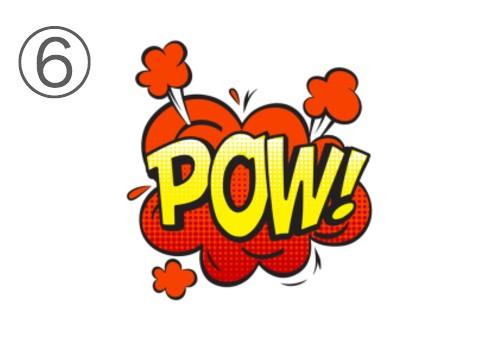 漫画 コミック 吹き出し 頭 回転速度 心理テスト