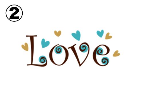 LOVE 惚れやすさ 心理テスト