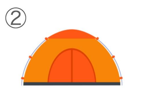 テント 猫っぽい 心理テスト