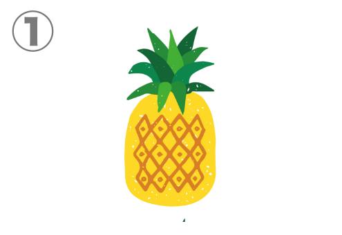 パイナップル 模様 性格 心理テスト