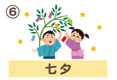 季節 行事 惚れる 特徴 心理テスト 七夕