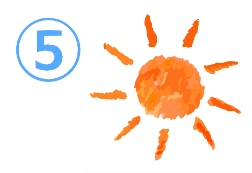 太陽 飲み込みの速さ 心理テスト