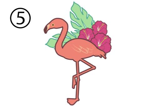 フラミンゴ 作業 心理テスト