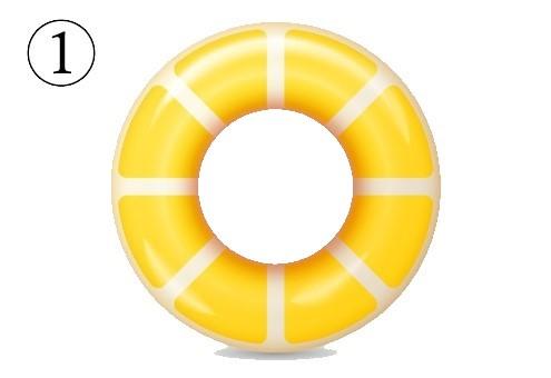浮き輪 海 夏 興味関心 心理テスト