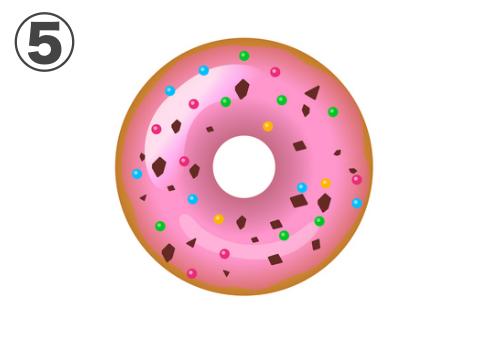 ドーナツ 恋の冷め方 心理テスト