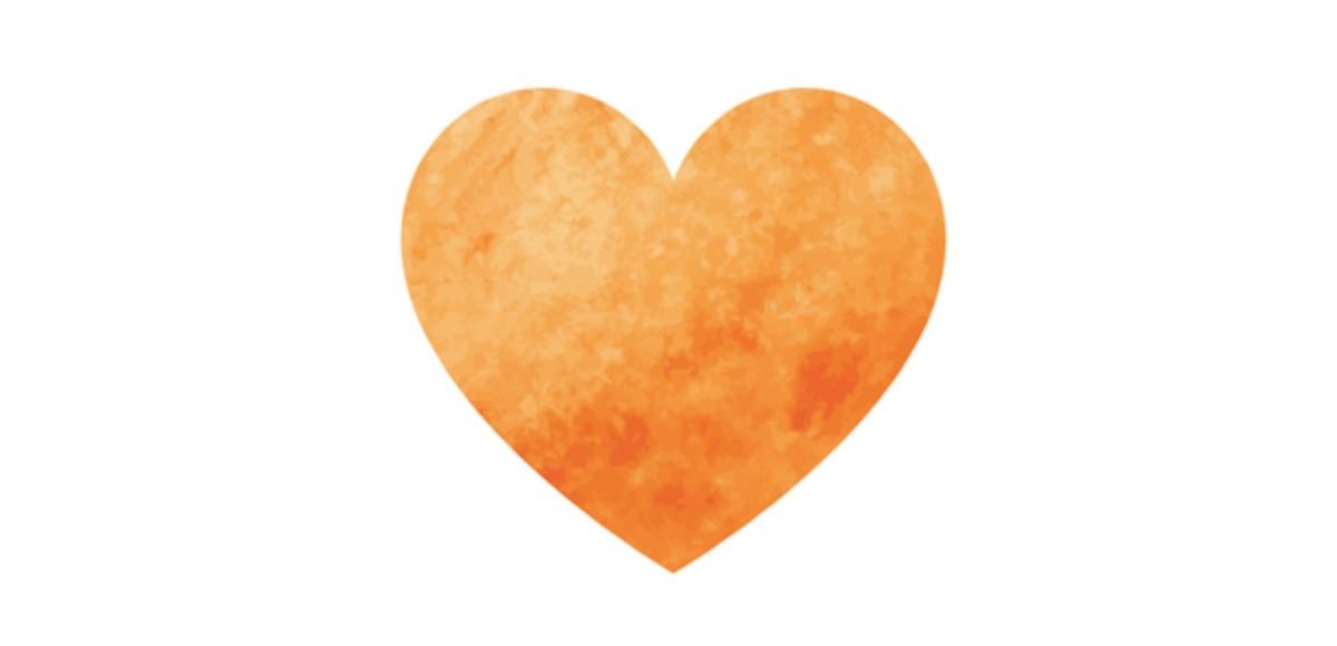 絵画 和 心の色 心理テスト オレンジ