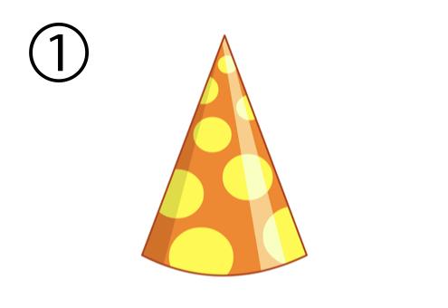 パーティー帽 オンオフ 心理テスト