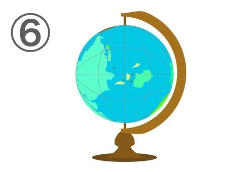 地球儀 海外 興味 心理テスト