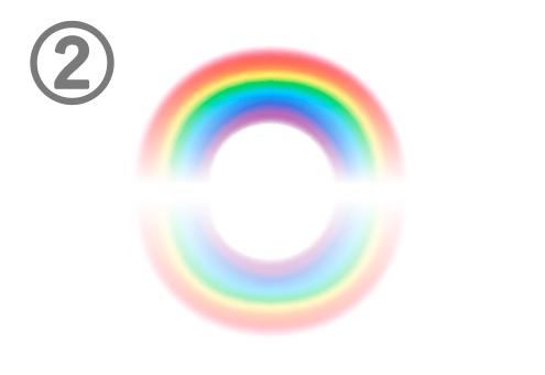 虹 集中力 心理テスト