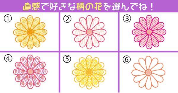 【心理テスト】直感で選んだ花が知っている、あなたの「ニヤけやすさ」