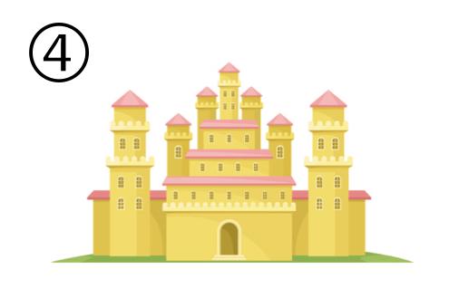 お城 お姫様 願望 心理テスト