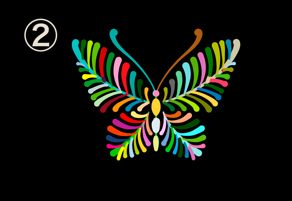 蝶 完璧主義 心理テスト