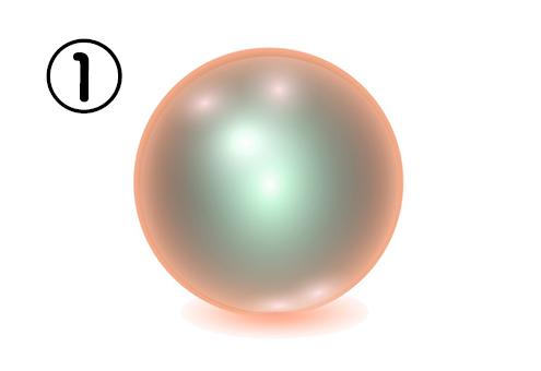 ①の神秘球体